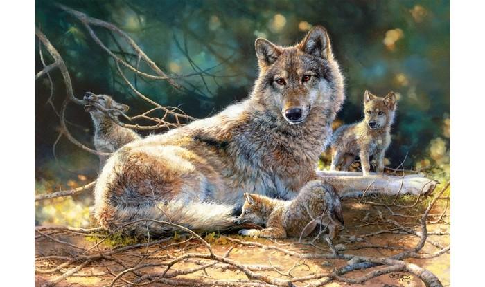 Castorland Пазлы Волки (1500 деталей)
