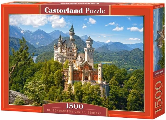 Castorland Пазлы Замок Нойштанштайн, Германия (1500 деталей)