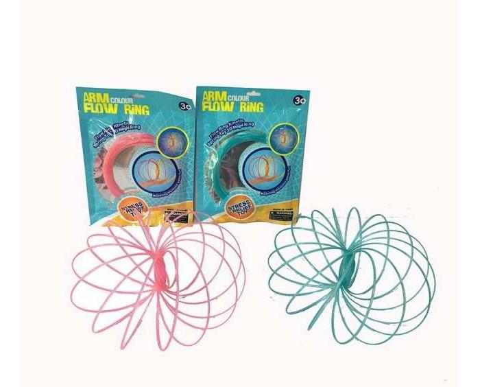 Развивающие игрушки Junfa антистресс Кольцо Magic Ring светящееся в темноте