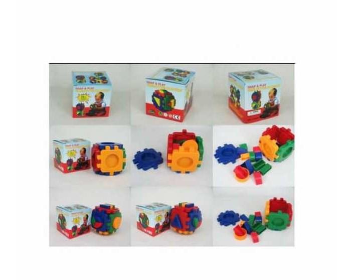 Развивающие игрушки Junfa Кубик ST1966C