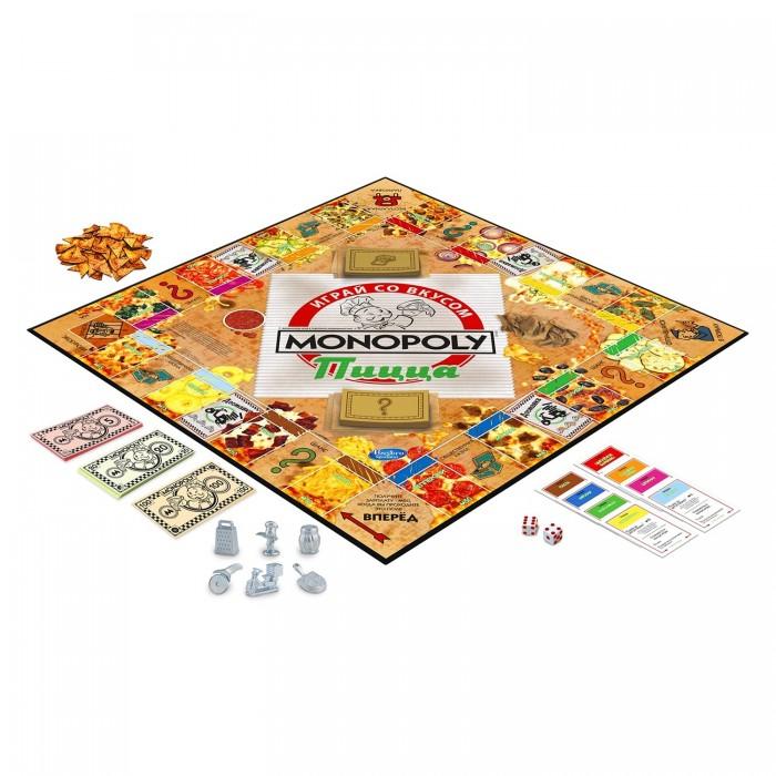 Настольные игры Hasbro Игра настольная Монополия Пицца
