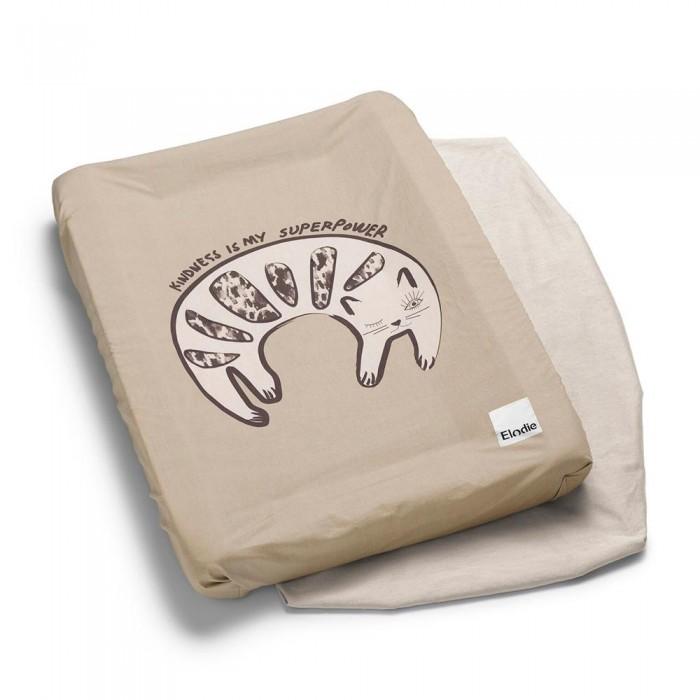 Купить Накладки для пеленания, Elodie Details Простынки для колыбели, матрасиков для пеленания Kindness Cat 2 шт.