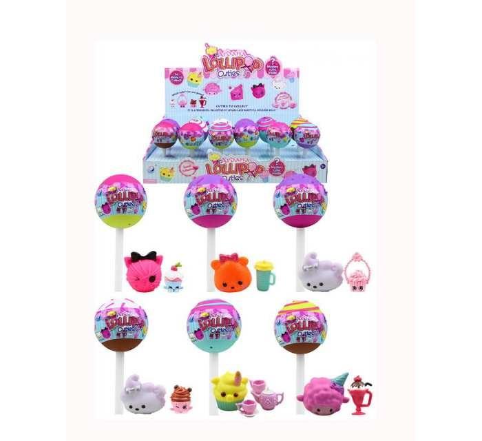 Игровые фигурки Junfa Игрушка-сюрприз в конфетке Lollipop игровые фигурки kawaii squeezies игрушка аксессуары для девочек