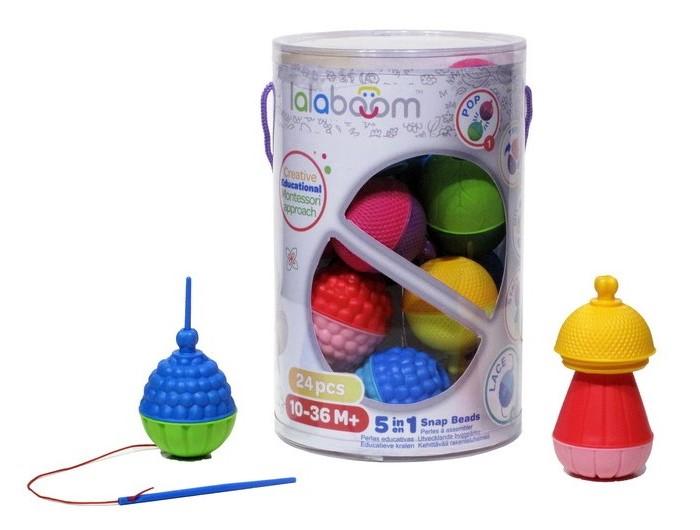 Развивающая игрушка Lalaboom Набор (24 предмета)