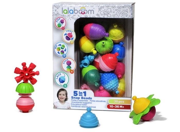 Развивающие игрушки, Развивающая игрушка Lalaboom Набор (30 предметов)  - купить со скидкой
