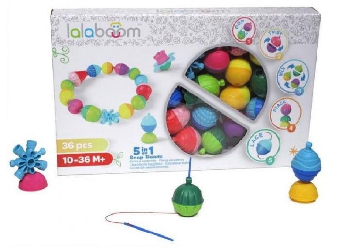 Развивающая игрушка Lalaboom Набор (36 предметов)