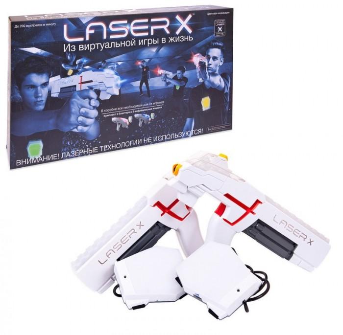 LaserX Набор игровой (2 бластера, 2 мишени)