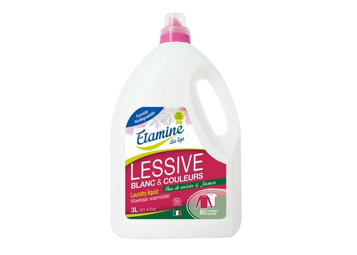 Бытовая химия Etamine Du Lys Жидкое средство для стирки Соцветье вишни и жасмина, 3 л недорого