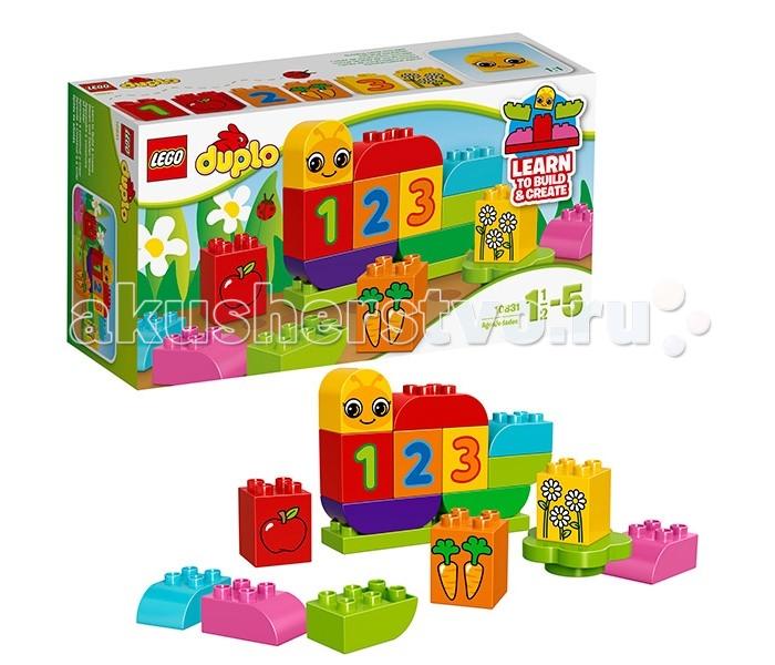 лего дупло гусеница Lego Lego Duplo 10831 Лего Дупло Моя веселая гусеница