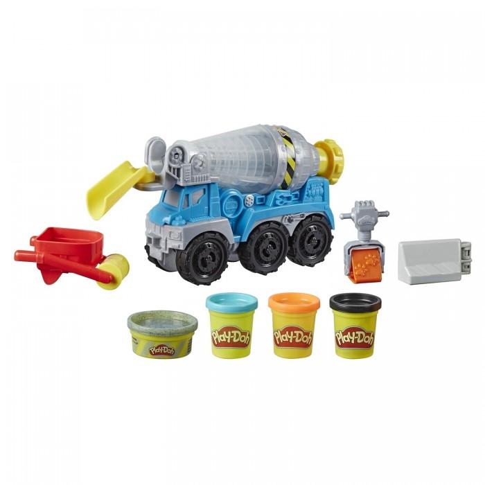 Play-Doh Набор для лепки Wheels Бетономешалка