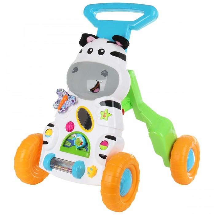 Купить Ходунки Ути Пути Развивающая игрушка Каталка Зебра