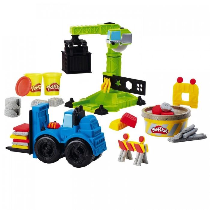 Фото - Масса для лепки Play-Doh Набор для лепки Кран-Погрузчик масса для лепки mallo junior набор сафари