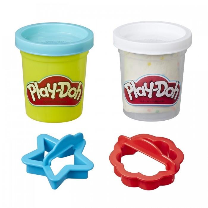 Фото - Масса для лепки Play-Doh Набор для лепки Мини-сладости масса для лепки mallo junior набор сафари