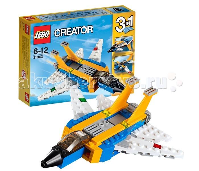 Lego Lego Creator 31042 Лего Криэйтор Реактивный самолет lego creator 31042 лего криэйтор реактивный самолет