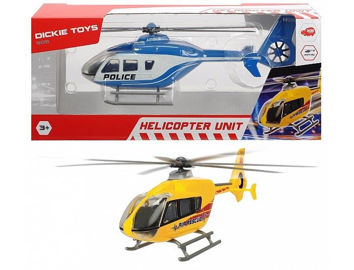 Вертолеты и самолеты, Dickie Вертолет EC 135 die-cast с крутящимися лопастями 21 см  - купить со скидкой