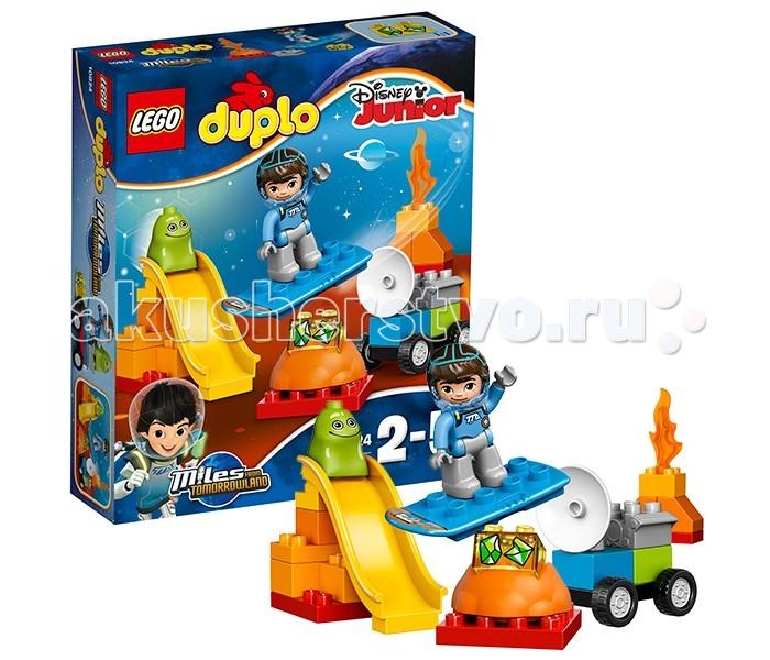 Lego Lego Duplo 10824 Лего Дупло Космические приключения Майлза lego duplo 10508 лего дупло большой поезд