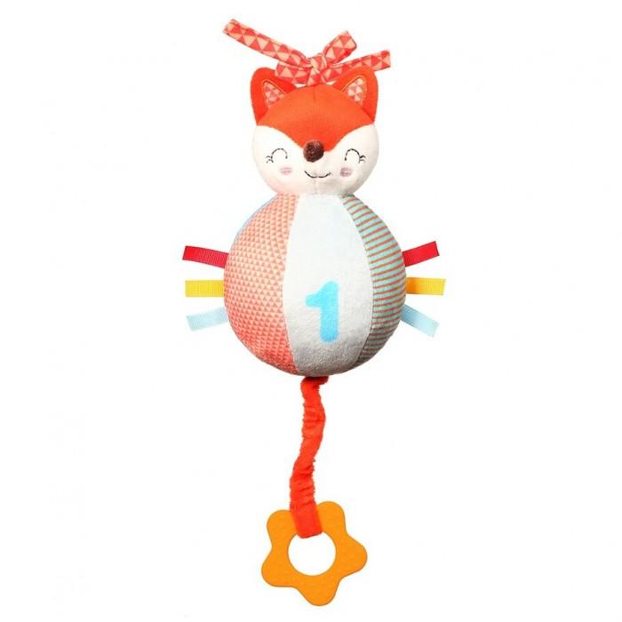 Развивающая игрушка BabyOno музыкальная с прорезывателем Fox Vincent