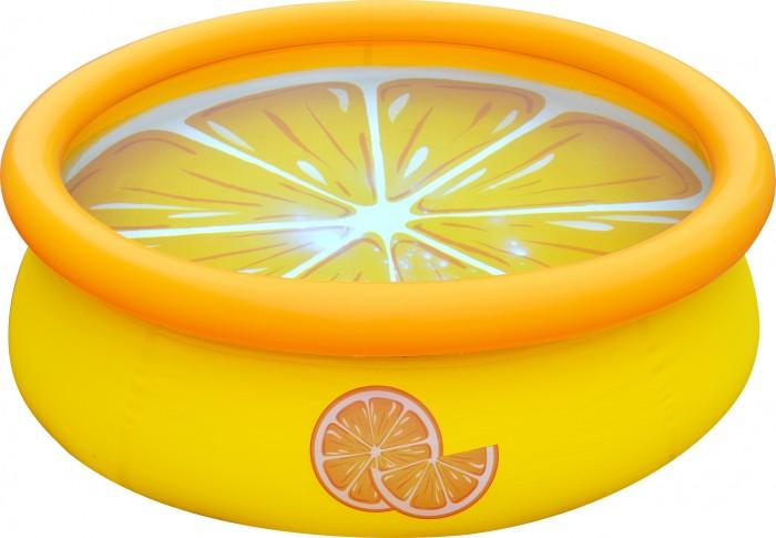 Купить Бассейны, Jilong Бассейн надувной Orange 3D Spray 150х41 см