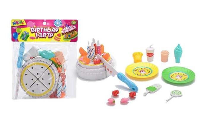 Игровые наборы Junfa Торт праздничный с аксессуарами