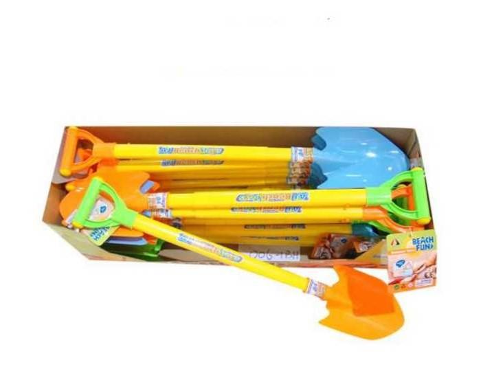Игрушки для зимы Junfa Лопата с выдвижной ручкой игрушки для зимы gowi садовая лопата 555 85