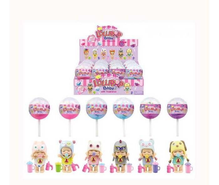 Куклы и одежда для кукол Junfa Пупс-куколка в конфетке LolliPop Baby