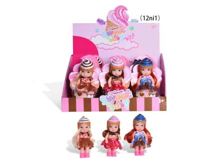 Фото - Куклы и одежда для кукол Junfa Куколка Сладкая серия чудесная планета земля