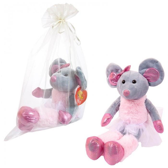 Мягкие игрушки ABtoys Мышка балерина в юбке-пачке 30 см