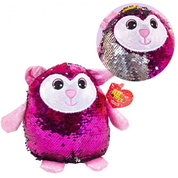 Фото - Мягкие игрушки ABtoys Овечка с пайетками 20 см игрушка ночник chicco овечка розовая 30 см
