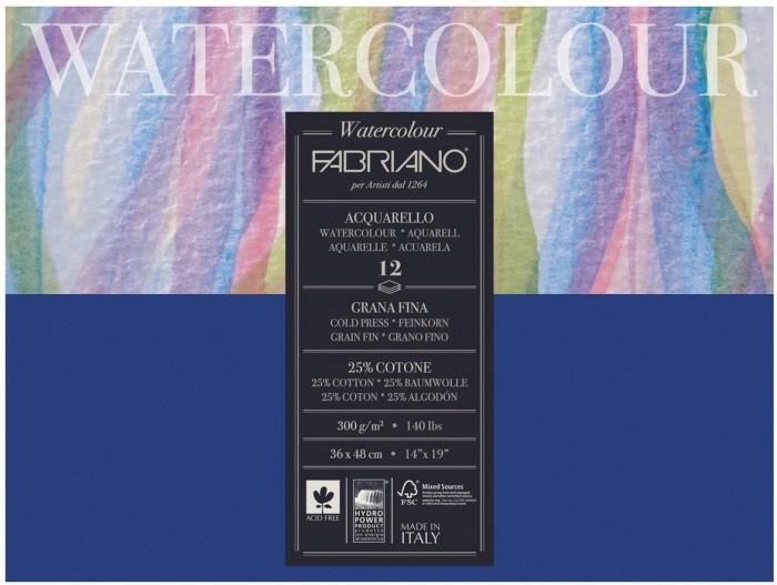 Fabriano Watercolour Studio Альбом для акварели А3 360х480 мм 12 листов