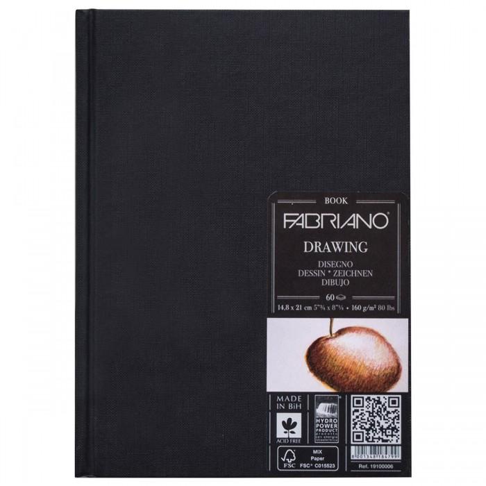 Купить Принадлежности для рисования, Fabriano Drawingbook Блокнот для зарисовок А5 148х210 мм 60 листов