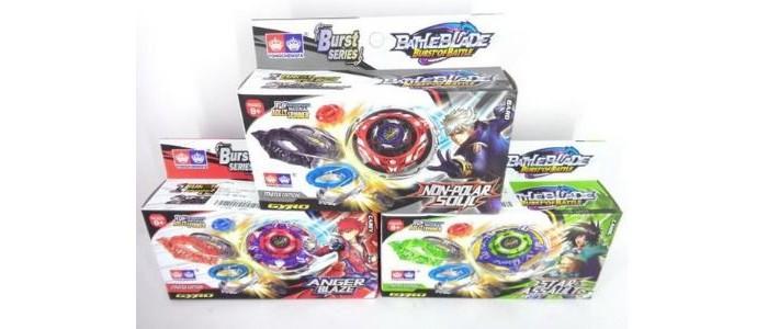 Развивающие игрушки Junfa Волчок Battle blade с пусковым устройством F6135