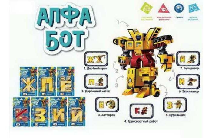 Роботы Junfa Робот-трансформер Алфа-бот серии Строительная техника