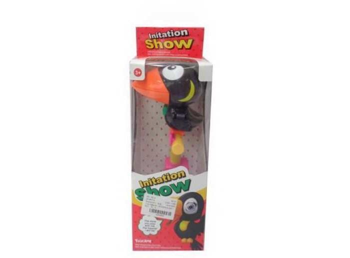 цена на Электронные игрушки Junfa Игрушка-повторюшка Ворона