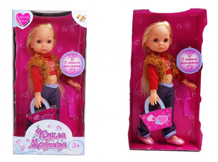 Куклы и одежда для кукол ABtoys Кукла Модница с аксессуарами 25 см куклы и одежда для кукол daisy набор кукла цветочек 9 см с аксессуарами и мопедом