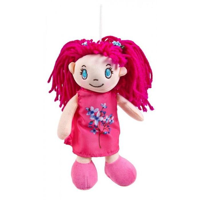 Куклы и одежда для кукол ABtoys Кукла в малиновом платье 20 см