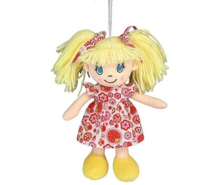 Куклы и одежда для кукол ABtoys Кукла в платье цветочек 20 см