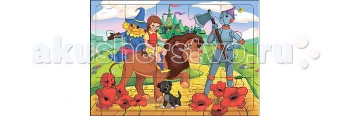 Пазлы Рыжий кот Пазл-рамка Добрая сказка (24 элемента) рыжий кот мозаика напольная 24 элемента