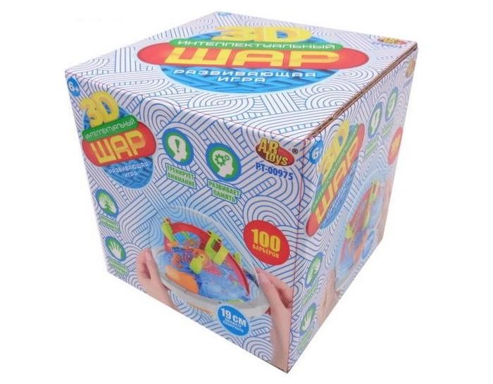 Фото - Развивающие игрушки ABtoys Интеллектуальный 3D-шар (100 барьеров) развивающие игрушки b kids шар конструктор