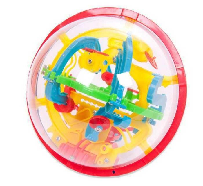 Фото - Развивающие игрушки ABtoys Шар интеллектуальный 3D (100 барьеров) развивающие игрушки b kids шар конструктор