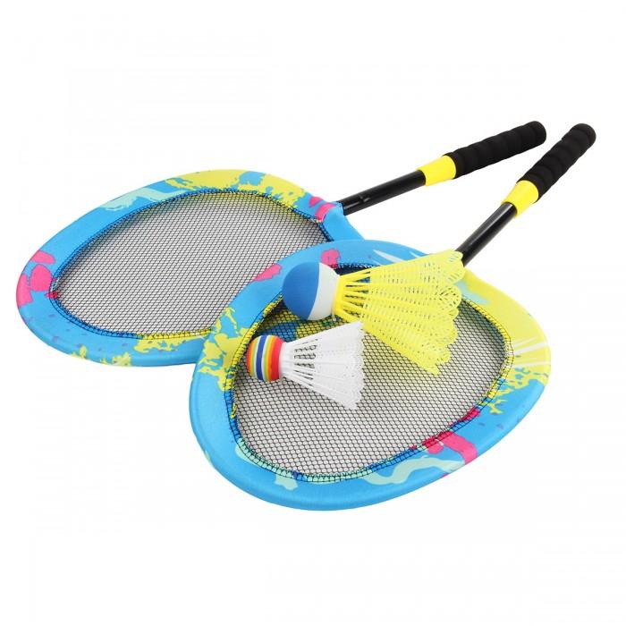 Спортивный инвентарь Veld CO Набор мягких ракеток с 2-мя воланчиками 2-ух размеров
