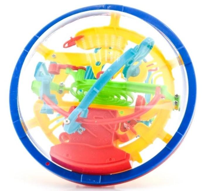 Развивающие игрушки ABtoys Интеллектуальный шар 3D (100 барьеров)