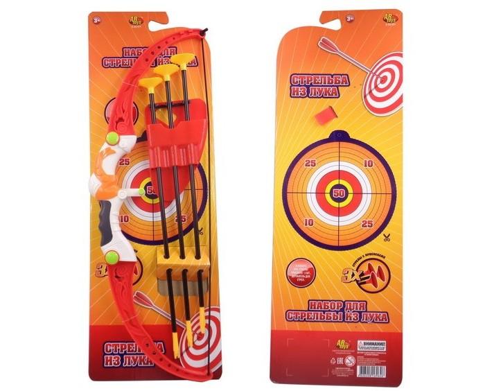 Игрушечное оружие ABtoys Набор Лук со стрелами на присосках (3 стрелы) лук и стрелы oem 3 bow sc 0 b30