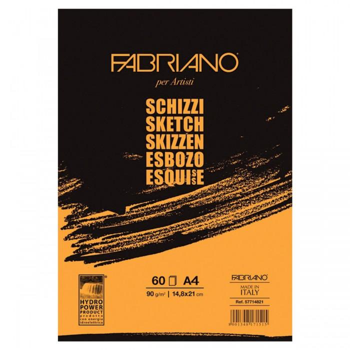 Fabriano Schizzi Альбом для рисования А4 210х297 мм 120 листов