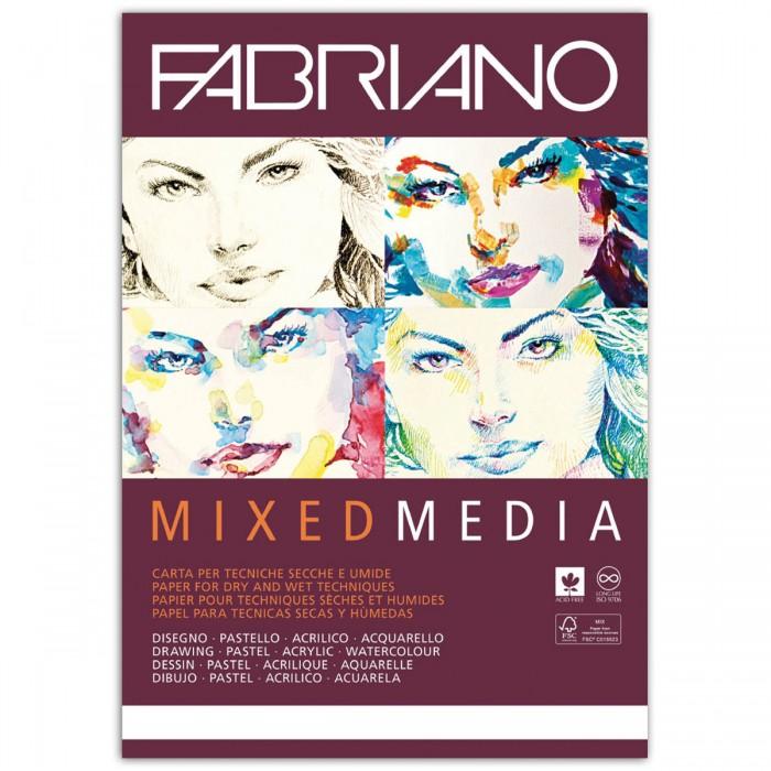 Fabriano Mixed Media Альбом для рисования А4 210х297 мм 40 листов