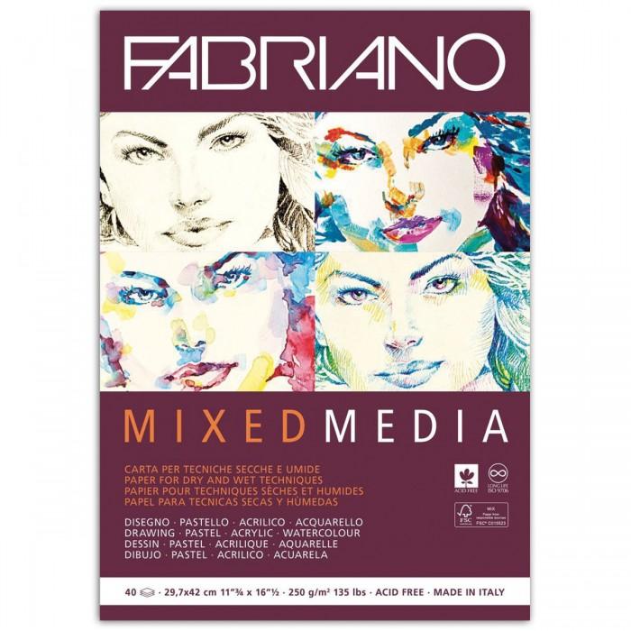 Fabriano Mixed Media Альбом для рисования А3 297х420 мм 40 листов