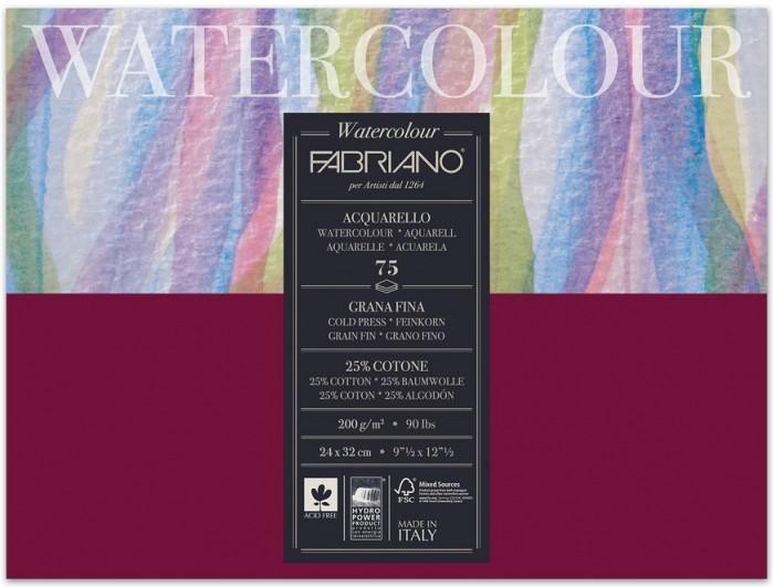 Fabriano Watercolour Studio Альбом для акварели А4 240х320 мм 75 листов