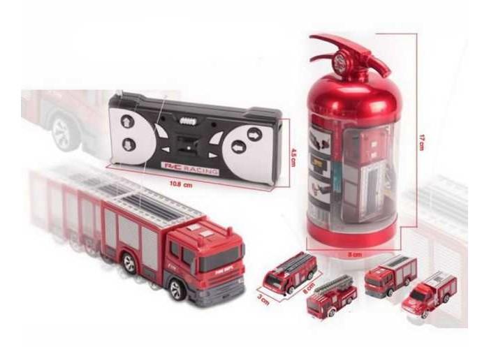 Радиоуправляемые игрушки Junfa Пожарная мини-машина радиоуправляемая