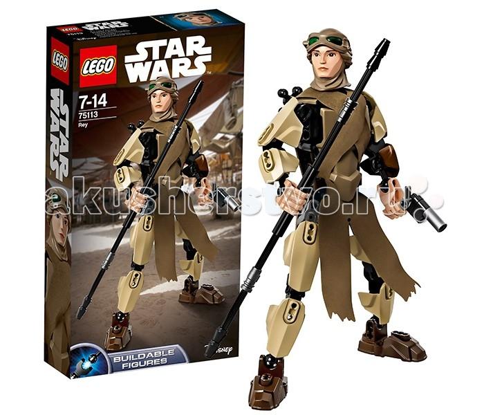 Lego Lego Star Wars 75113 Лего Звездные Войны Рей lego lego star wars 75089 лего звездные войны пехотинцы планеты джеонозис