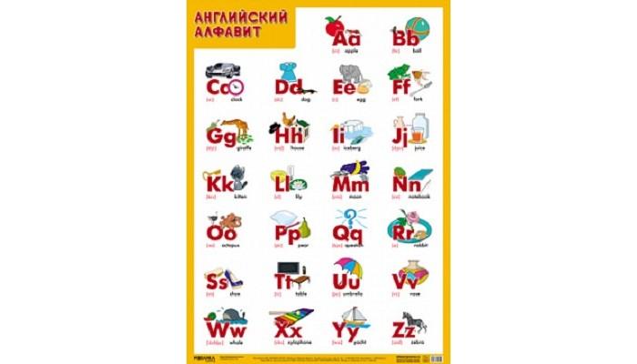 Фото - Обучающие плакаты Мозаика-Синтез Развивающий плакат Английский алфавит пазлы апплика мозаика мягкий алфавит английский