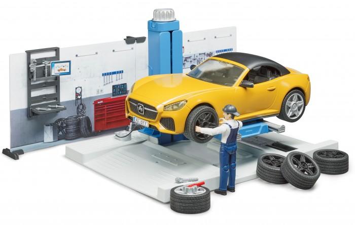 Игровые наборы Bruder Ремонтный набор для автомобиля набор ремонтный для сифона